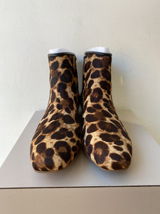 Louise et Cie leopard print Yasmin boots size 7 NEW - My Girlfriend's Wardrobe York Pa