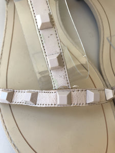 Rebecca Minkoff pale pink gladiator sandals size 8.5 - My Girlfriend's Wardrobe York Pa