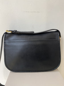 Coach black leather vintage City crossbody - My Girlfriend's Wardrobe York Pa