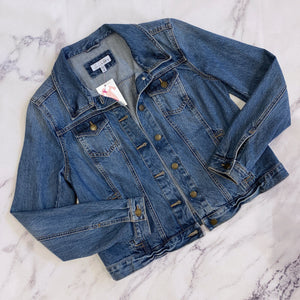 Loft denim jacket - My Girlfriend's Wardrobe York Pa
