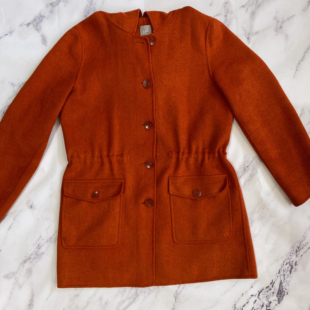 J.Jill lightweight wool jacket - My Girlfriend's Wardrobe York Pa