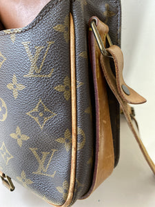 Louis Vuitton monogram Cartouchiere MM crossbody - My Girlfriend's Wardrobe York Pa