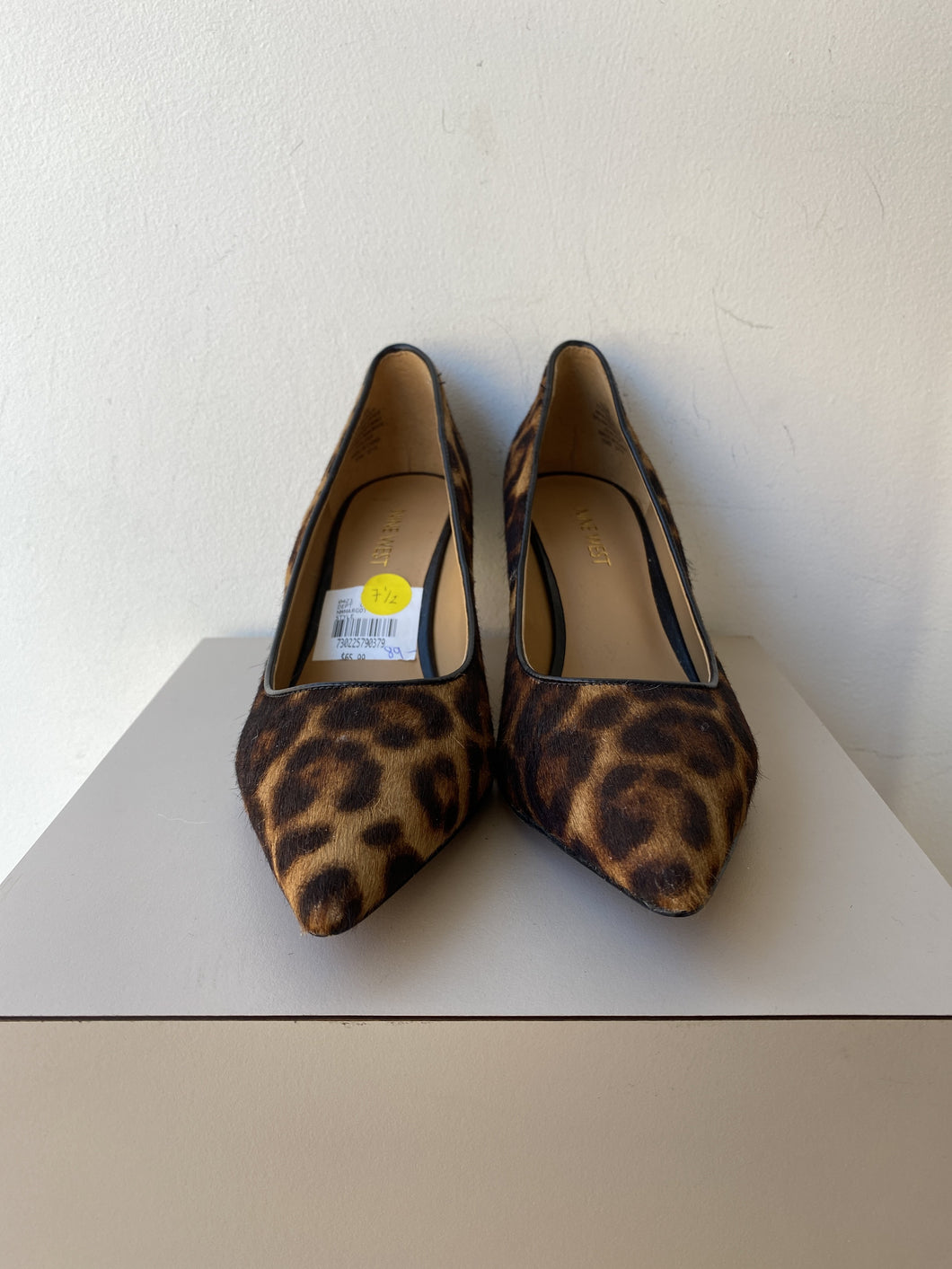 Nine West leopard print pointed pumps size 7.5 NEW - My Girlfriend's Wardrobe York Pa