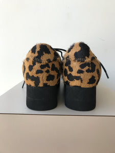Jeffery Campbell leopard print sneakers size 5 - My Girlfriend's Wardrobe York Pa
