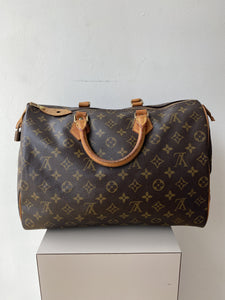 Louis Vuitton monogram vintage Speedy 40 - My Girlfriend's Wardrobe York Pa