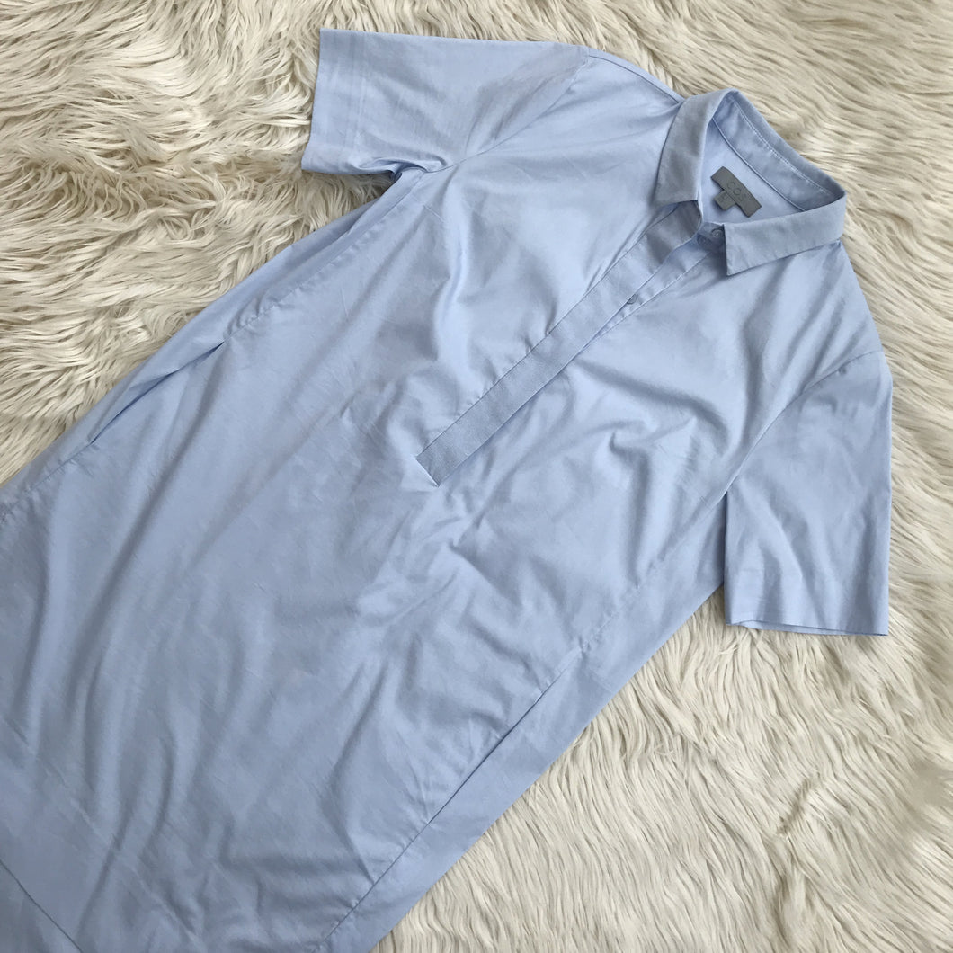 COS light blue shirt dress - My Girlfriend's Wardrobe York Pa