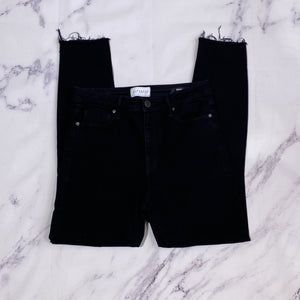 Parker Smith black high rise skinny jeans size 8 - My Girlfriend's Wardrobe LLC