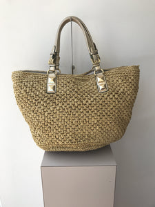 Michael Kors wicker shoulder bag - My Girlfriend's Wardrobe York Pa