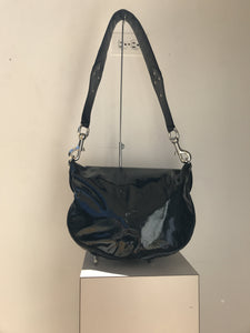 Gucci black patent mirror shoulder bag - My Girlfriend's Wardrobe York Pa