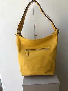 Coach yellow leather legacy bucket 19889 - My Girlfriend's Wardrobe