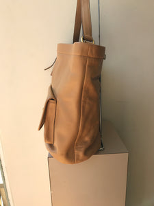 Coach tan leather archival bucket 21193 - My Girlfriend's Wardrobe