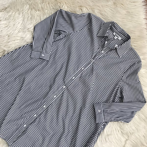 BB Dakota striped shirt dress NWT - My Girlfriend's Wardrobe York Pa