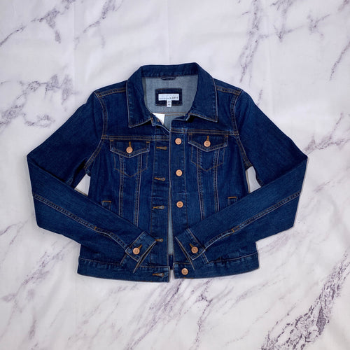 Loft denim jacket size XS