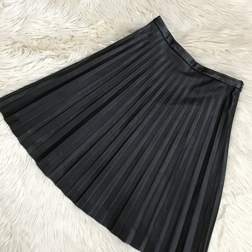The Limited black faux leather skirt NWT - My Girlfriend's Wardrobe York Pa