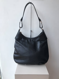 Prada black leather shoulder bag NWT - My Girlfriend's Wardrobe York Pa