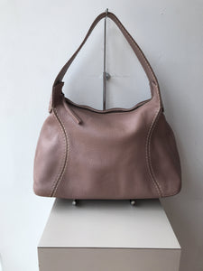 Tod's pink leather shoulder bag - My Girlfriend's Wardrobe York Pa