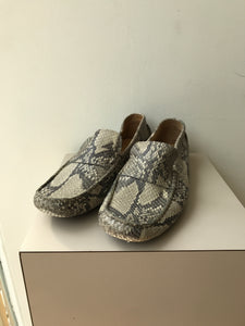 Cole Haan snake print loafers size 8 - My Girlfriend's Wardrobe