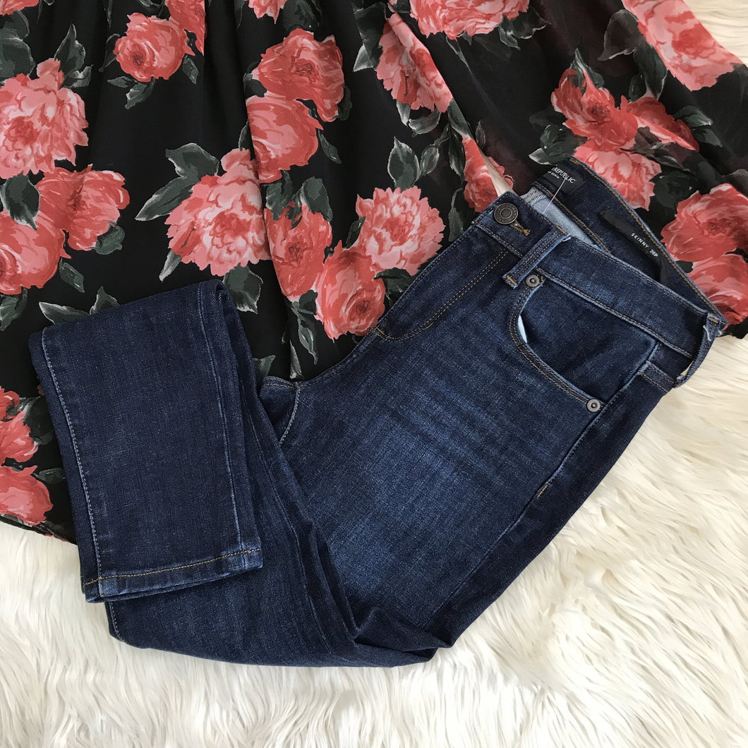 Banana Republic Premium Denim skinny jeans - My Girlfriend's Wardrobe York Pa
