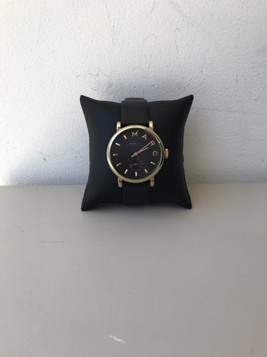 Marc by Marc Jacobs black and gold watch - My Girlfriend's Wardrobe York Pa