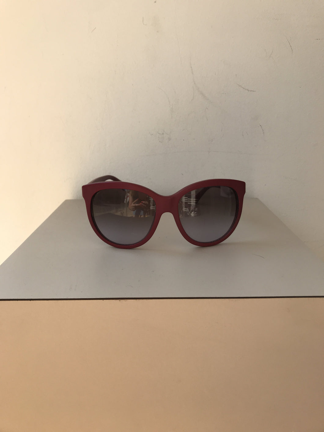 Dolce & Gabbana red sunglasses - My Girlfriend's Wardrobe York Pa