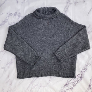 by Anthropologie gray dolman sleeve sweater size XL