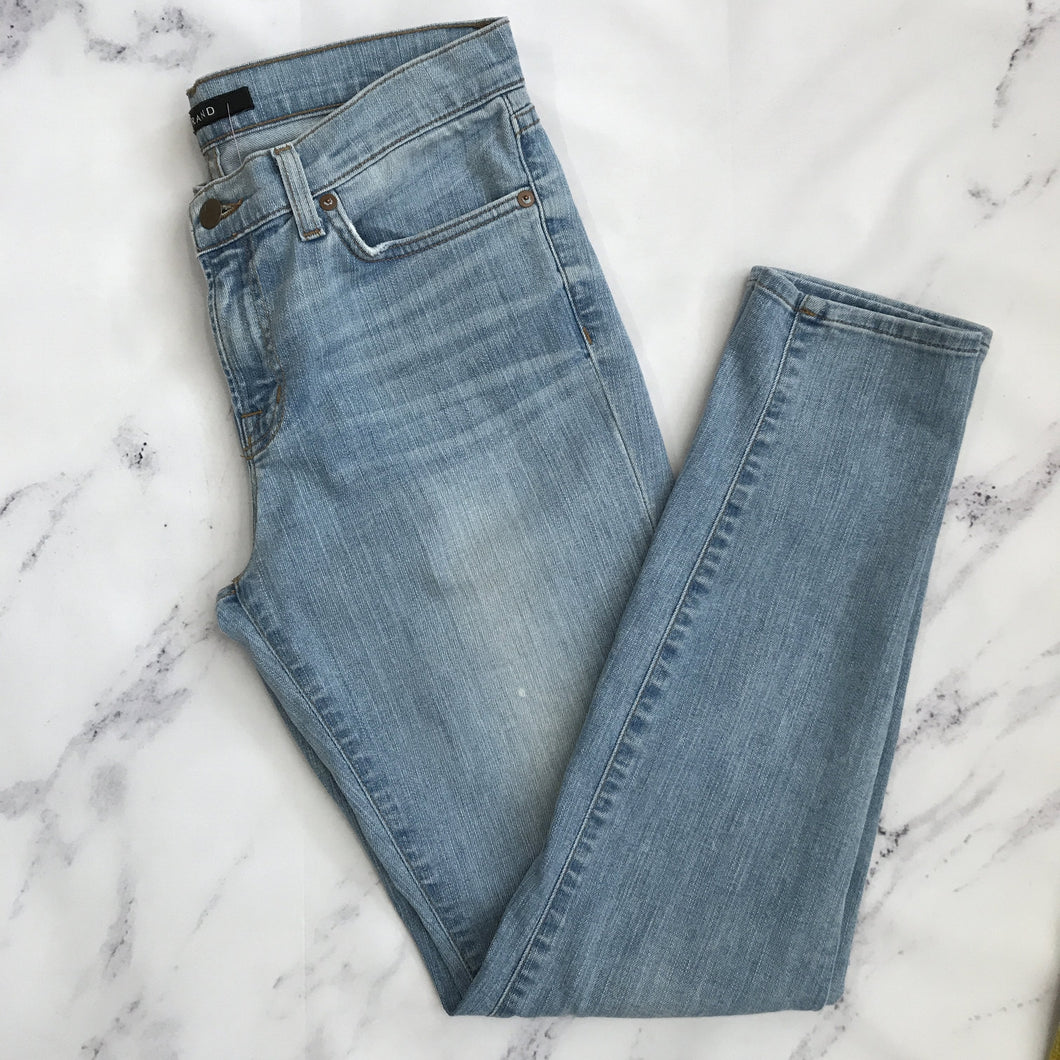 J Brand light wash skinny jeans - My Girlfriend's Wardrobe York Pa
