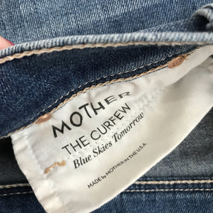 Mother The Curfew blue skies tomorrow jeans - My Girlfriend's Wardrobe York Pa