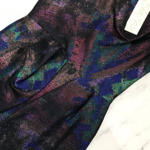 Lela Rose front cowl galaxy dress NWT - My Girlfriend's Wardrobe York Pa