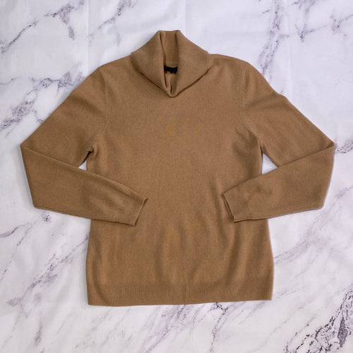 Brooks Brothers tan cashmere sweater size L