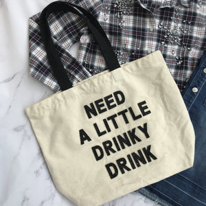 Fallon & Royce drinky drink tote - My Girlfriend's Wardrobe York Pa