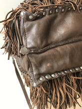 Prada brown nappa medium fringe tote - My Girlfriend's Wardrobe