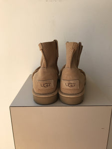UGG light tan perforated ankle boots size 6 - My Girlfriend's Wardrobe York Pa