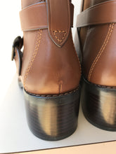 Coach brown leather ankle boots size 8 - My Girlfriend's Wardrobe York Pa