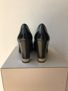 Tory Burch black patent pumps size 8.5 - My Girlfriend's Wardrobe York Pa