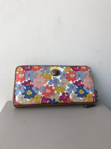 Coach floral zip around wallet - My Girlfriend's Wardrobe