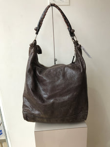 Balenciaga brown large giant 21 day GCH shoulder bag - My Girlfriend's Wardrobe York Pa