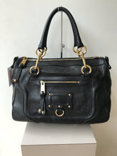 Marc Jacobs black leather satchel - My Girlfriend's Wardrobe