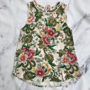 Loft pink and green floral tank - My Girlfriend's Wardrobe York Pa