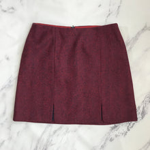 Boden red and navy tweed skirt - My Girlfriend's Wardrobe York Pa