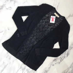 Loft navy open cardigan - My Girlfriend's Wardrobe York Pa