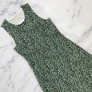 Michael Michael Kors black and green sweater dress - My Girlfriend's Wardrobe York Pa