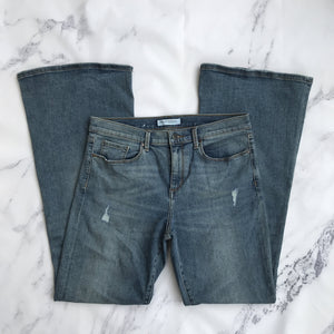 Banana Republic premium denim flare jeans - My Girlfriend's Wardrobe York Pa