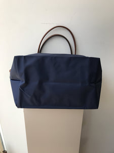 Longchamp navy Le Pliage Shopping tote - My Girlfriend's Wardrobe York Pa