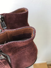 Lucky Brand rust suede ankle boots size 8.5 - My Girlfriend's Wardrobe York Pa