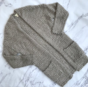 Debut gray super soft open cardigan - My Girlfriend's Wardrobe York Pa