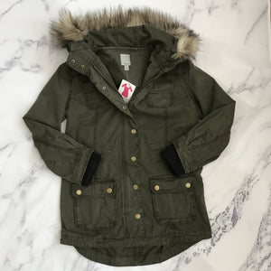 Halogen olive jacket - My Girlfriend's Wardrobe York Pa