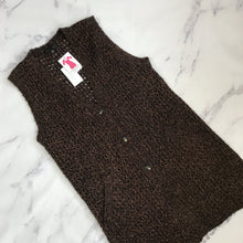Sanctuary brown and black vest NWT
