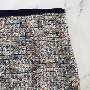 Tory Burch multi color tweed skirt