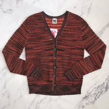 M Missoni red and black knit cardigan - My Girlfriend's Wardrobe York Pa