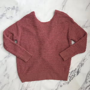 Kori America pink sweater - My Girlfriend's Wardrobe York Pa